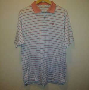 Peter Millar Stripe Polo Shirt